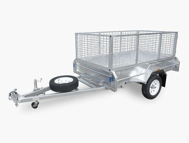 6x4 welded trailer