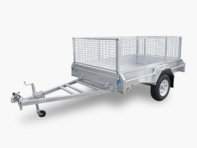 8x5 welded trailer