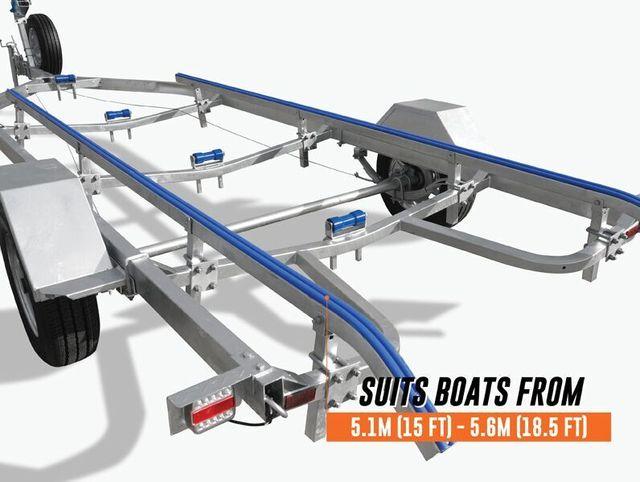 5 mtr skid trailer
