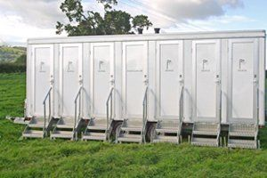 Portable shower units for hire