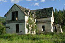 Blanchard Idaho History,  Homestead