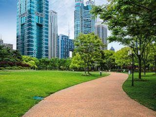 Allestimento aree verdi pubbliche