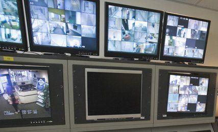 Surveillance equipment installation