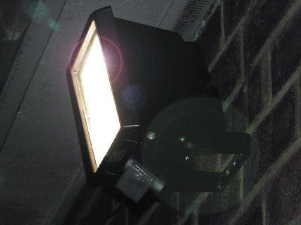 Security spotlight installation