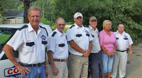 The members of our pest inspection services team in Enterprise, AL