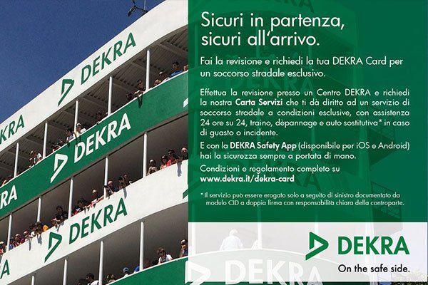 una brochure di Dekra