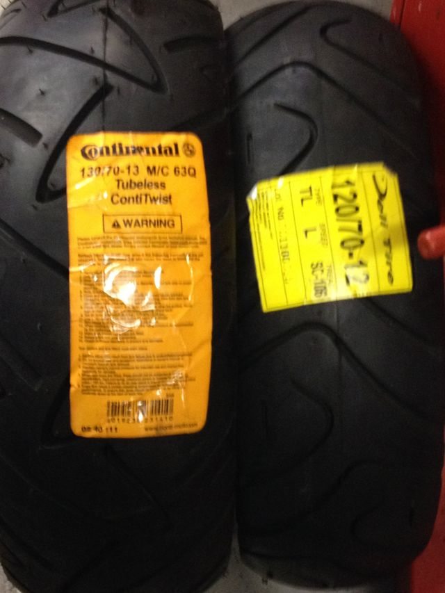 new tyres