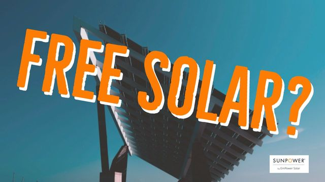 Solar knocked on the door of your home  Is what they're