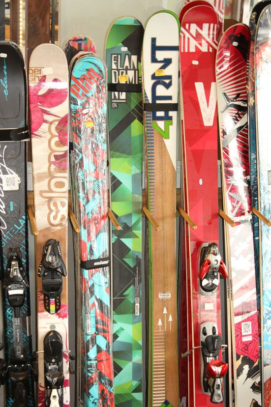affordable snowboards on shelves