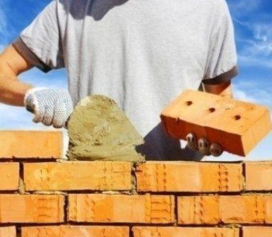 costruzioni, mattoni, costruzione mura