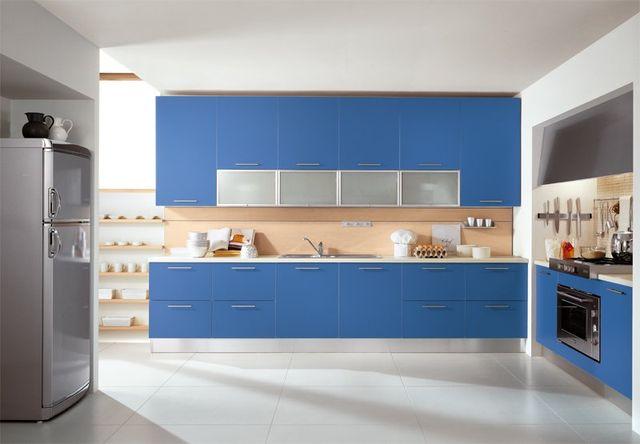 Refreshing Kitchen Color Ideas Lario Modular Kitchen