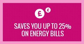 saves you to 25% on energy bills
