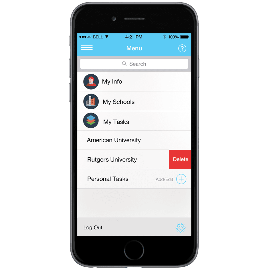 AppLyst - The College Application Wizard