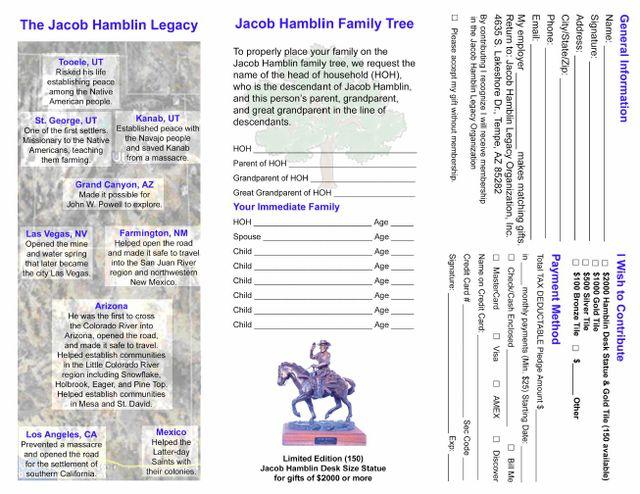 Jacob Hamblin Memorial