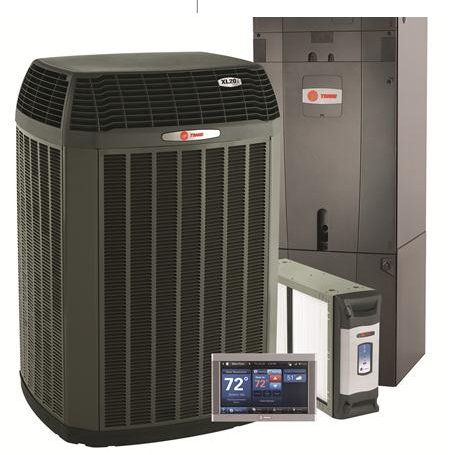 heating and air conditioning unit