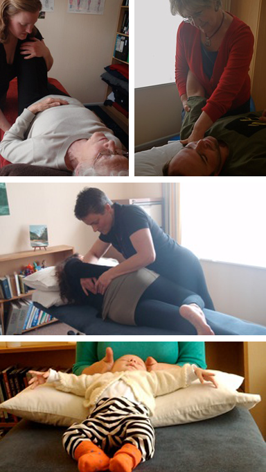 osteopaths working on patients in Wellington