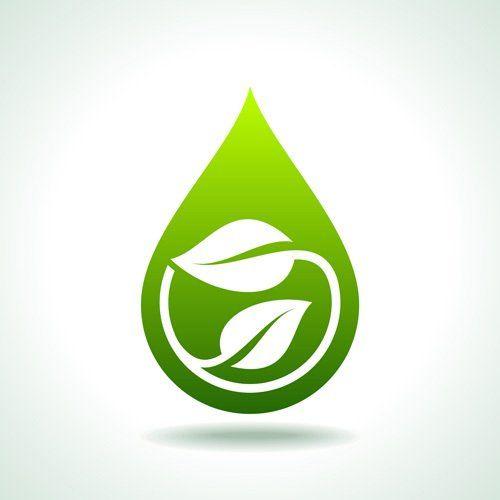 goccia verde