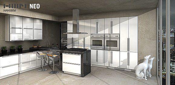 Hanssem Frameless Cabinets | Kitchen & Bath Wholesalers ...