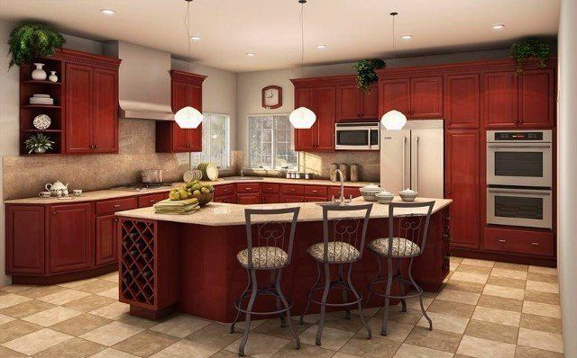 bath and kitchen cabinets cherry wood cabinets 4336