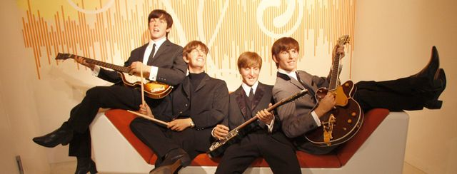 Statue di cera dei Beatles