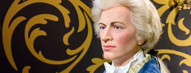 Statua di cera di Mozart