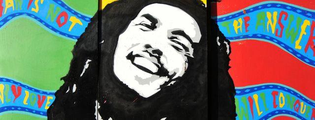 Disegno di Bob Marley