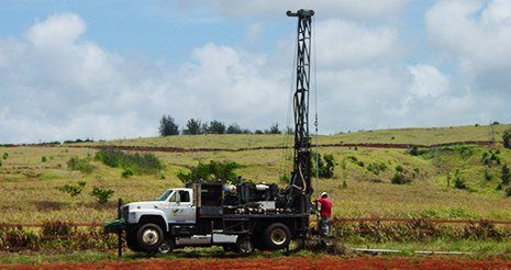 Valley Well Drilling vehicle