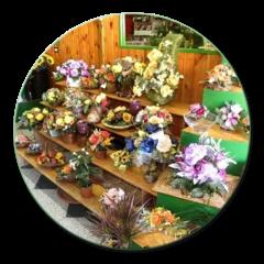 allestimento composizioni di fiori
