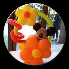 palloncini a decorazione di una festa