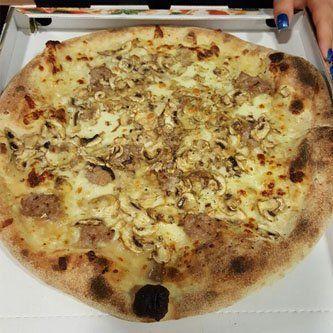 pizza fantasia del pizzaiolo