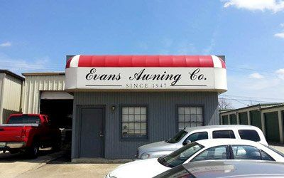 Canopies and Awnings in Huntsville, AL | Evans Awning Co