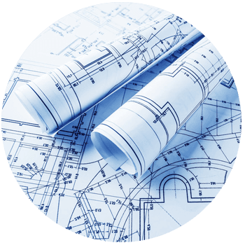 Construction blue print
