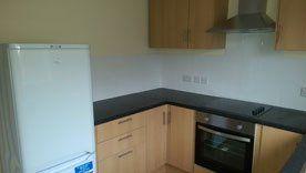 A kitchen installed