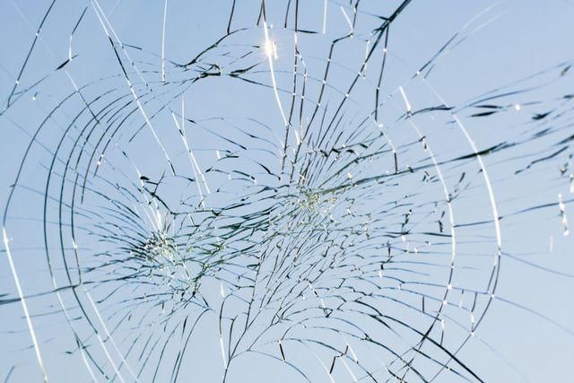 Broken window needing glass replacement in Auckland