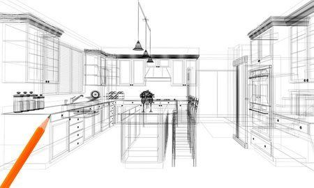 architectural drawings. Bespoke Kitchen And Bathroom Design Architectural Drawings