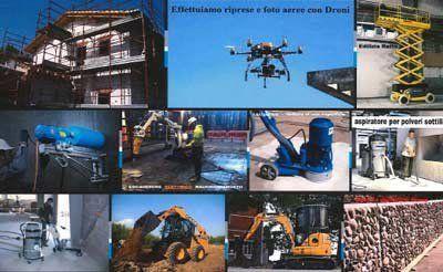 servizio di foto aeree con droni