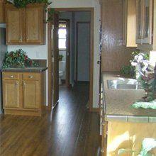 Modular home kitchens