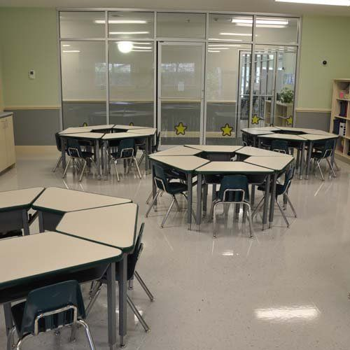 Private Elementary School Classroom