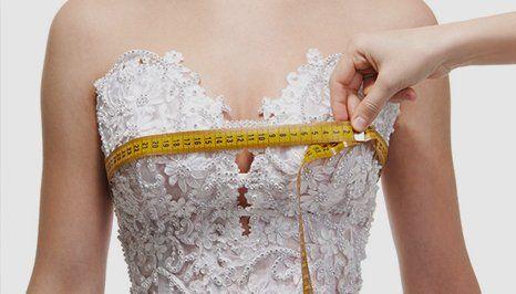 wedding dress measurement