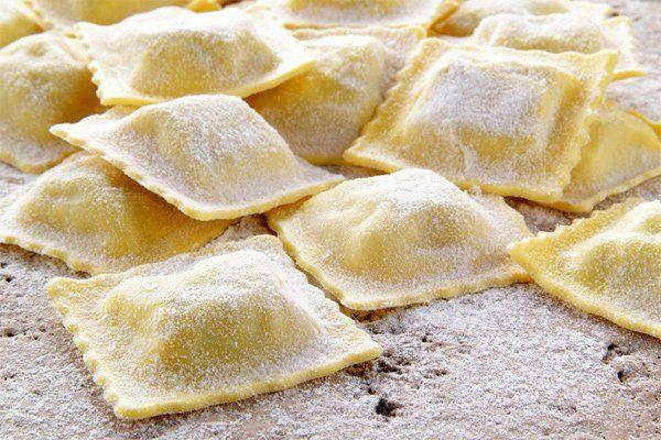 Ravioli di pasta fresca al Ristorante Essential