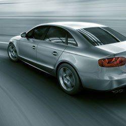 silver coloured car