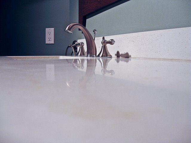 Make Laminate Countertops Look Like Concrete
