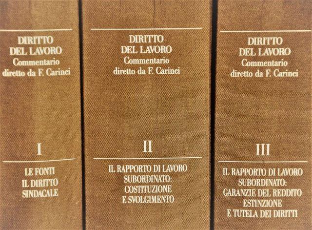 manuali di diritto del lavoro