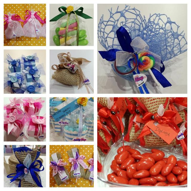 bomboniere artigianali presso Candy Shop a Mortara