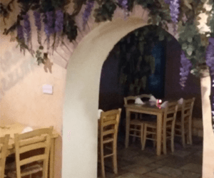 Enzo's Ristorante dining area