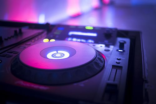 Equipment used by DJ in Saint Charles, MO