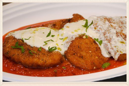One of our Italian dishes at our restaurant in Patchogue
