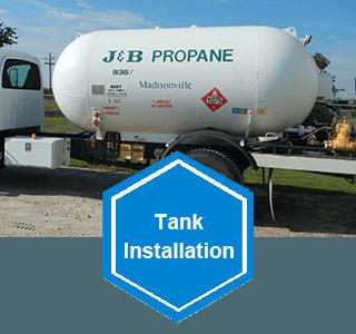 Residential Propane Tank installation Madisonville, TX