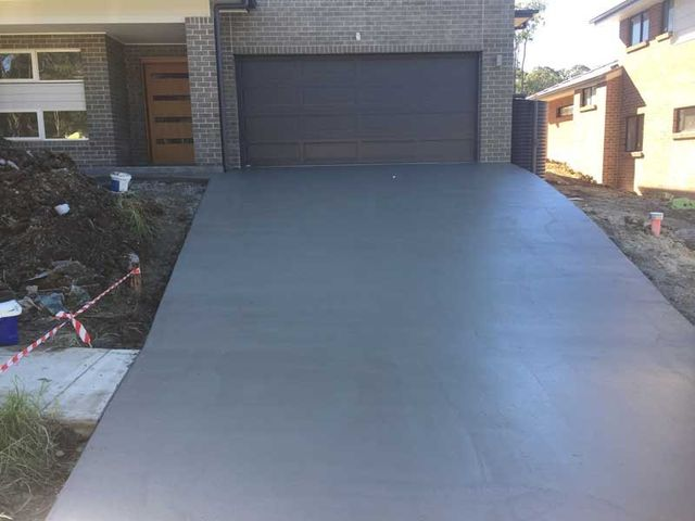 Concrete Driveways Central Coast | Newcastle | T & T Coastal