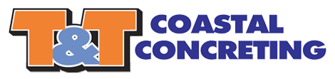 t and t coastal concreting logo